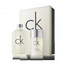 CK ONE EDT 100ML + DEO STICK 75 ML SET REGALO