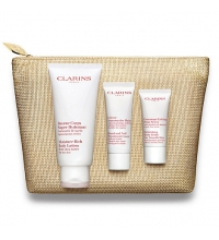 CLARINS BODY CARE COLLECTION ( B/LOTION 200 ML + EXFOL. CORP. 30 ML + CR. MANOS 50 ML) SET