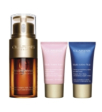 CLARINS DOUBLE SERUM 30 ML + MULTI ACTIV. JOUR 15 ML + MULTI ACTIVE NIGHT 15 ML SET