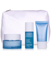 CLARINS SET HIDRATACION PROFUNDA (CREMA HID. 50 ML + BI-SER.15 ML+ UV PLUS 10 ML) SET REGALO
