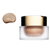 CLARINS EXTRA COMFORT FOUNDATION COLOR 112 AMBER