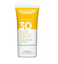 CLARINS GEL ACEITE SOLAR INVISIBLE SPF 30 ROSTRO 50 ML