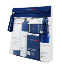 CLARINS MEN GRAB AND FLY SET REGALO CUIDADO COMPLETO PARA HOMBRE