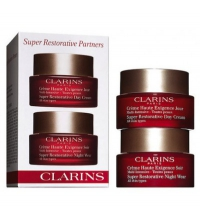CLARINS SUPER RESTORATIVE REPLENISHING PARTNERS TRAVEL EXCLUSIVE