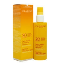 CLARINS SPRAY SOLAIRE LOCION SPRAY 150 ML UVB/UVA SPF 20