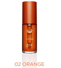 CLARINS WATER LIP STAIN 02 ORANGE