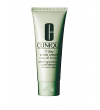CLINIQUE EXFOLIANTE FACIAL 7 DAYS SCRUB CREAM RINSE OFF FORMULA 100 ML