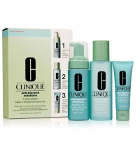 CLINIQUE ANTI BLEMISH SOLUTIONS 3 STEP SET REGALO