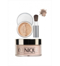 CLINIQUE FACE POWDER & BRUSH 03 TRANSPARENCY POLVOS SUELTOS LIGEROS 35 GR.