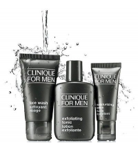 CLINIQUE MEN GREAT SKIN FOR HIM 3 STEP SET REGALO