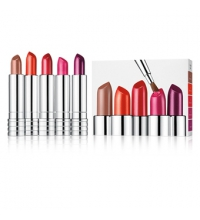 CLINIQUE LONG LAST LIPSTICK SET X 5