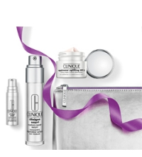 CLINIQUE SMART BEGINNING REPAIRWEAR SET (SERUM 30ML + CREMA HIDRATANTE ANTI-EDAD SPF 15, 15 ML.+ CONTORNO OJOS 5ML + NECESER)