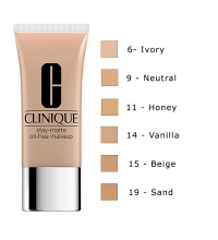 CLINIQUE STAY MATTE MAKE UP OIL FREE 30 ML COLOR 11 HONEY