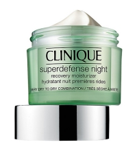CLINIQUE SUPERDEFENSE NIGHT CREAM P/ SECAS-MUY SECAS 50 ML