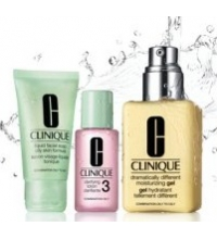 CLINIQUE 3 STEP SKIN CARE SYSTEM TYPE 3 TRAVEL EXCLUSIVE