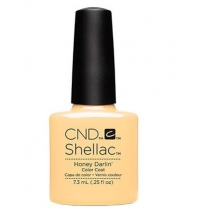 CND SHELLAC HONEY DARLIN 7.3 ML