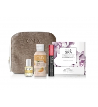 CND VINYLUX 2 EN 1 WILDFIRE + LOTION 59 ML + SOLAR OIL 3.7 ML + SPA EXPERICENCIA DELUXE + NECESER SET REGALO