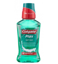 COLGATE PLAX ENJUAGUE BUCAL MULTIPROTECCION MENTA VERDE SUAVE 250ML