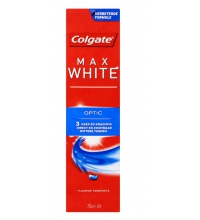 COLGATE MAX WHITE OPTIC PASTA DENTAL 75ML