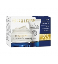 COLLISTAR CREMA ENERGIZANTE ANTIEDAD 50 ML + CREMA ENERGIZANTE ANTIEDAD 25 ML SET REGALO