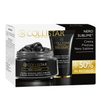 COLLISTAR SUBLIME BLACK CREMA PREZIOSA 50 ML + SUBLIME BLACK CREMA PREZIOSA 25 ML SET REGALO