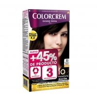 COLORCREM COLOR & BRILLO TINTE CAPILAR +45% DE PRODUCTO 30 CASTAÑO OSCURO