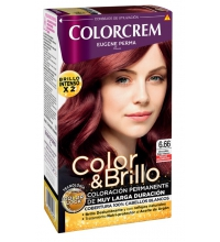 COLORCREM COLOR & BRILLO TINTE CAPILAR 6.66 CHOCOLATE ROJO INTENSO