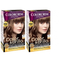 COLORCREM COLOR & BRILLO TINTE CAPILAR 70 RUBIO  x 2 UDS