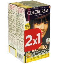 COLORCREM COLOR & BRILLO TINTE CAPILAR 74 MARRON MOKA x 2 UDS