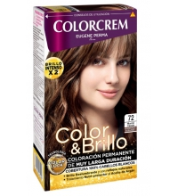 COLORCREM COLOR & BRILLO TINTE CAPILAR 72 MARRON CANELA