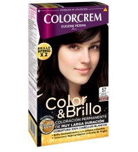 COLORCREM COLOR & BRILLO TINTE CAPILAR 57 MARRON CHOCOLATE