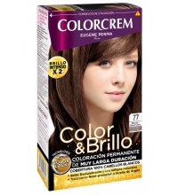 COLORCREM COLOR & BRILLO TINTE CAPILAR 77 MARRON GLACE CLARO