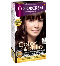 COLORCREM COLOR & BRILLO TINTE CAPILAR 74 MARRON MOKA