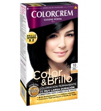 COLORCREM COLOR & BRILLO TINTE CAPILAR 10 NEGRO INTENSO