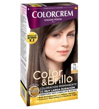 COLORCREM COLOR & BRILLO TINTE CAPILAR 71 RUBIO CENIZA