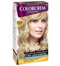 COLORCREM COLOR & BRILLO TINTE CAPILAR 900 RUBIO CLARO NATURAL