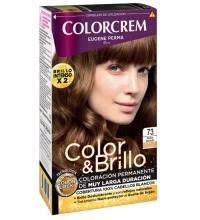 COLORCREM COLOR & BRILLO TINTE CAPILAR 73 RUBIO DORADO