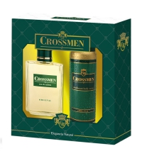 CROSSMEN EDT 100 ML + DEO SPRAY 150 ML SET REGALO