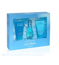 DAVIDOFF COOL WATER WOMAN EDT 30 ML + S/G 50 ML + B/L 50 ML SET REGALO