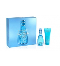 DAVIDOFF COOL WATER WOMAN EDT 50 ML + B/L 75 ML SET REGALO