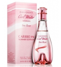 DAVIDOFF COOL WATER SEA ROSE CARIBBEAN SUMMER EDITION 100ML VAPORIZADOR