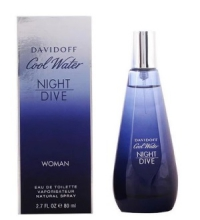 DAVIDOFF COOL WATER WOMAN NIGH DIVE EDT 80 ML