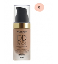 DEBORAH LIQUID FOUNDATION SPF 15DD DAILY DREAM 00 IVORY 30ML
