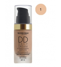 DEBORAH LIQUID FOUNDATION SPF 15DD DAILY DREAM 01 FAIR 30ML