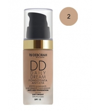 DEBORAH LIQUID FOUNDATION SPF 15DD DAILY DREAM 02 BEIGE 30ML