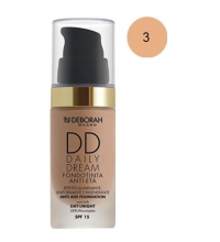 DEBORAH LIQUID FOUNDATION SPF 15DD DAILY DREAM 03 SAND 30ML