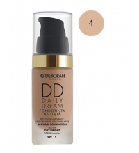 DEBORAH LIQUID FOUNDATION SPF 15DD DAILY DREAM 04 APRICOT 30ML