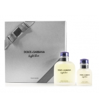 DOLCE & GABBANA LIGHT BLUE POUR HOMME EDT VAPO 125 ML + EDT 40ML VAPO SET REGALO
