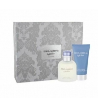DOLCE & GABBANA LIGHT BLUE POUR HOMME EDT 75 ML + A/S BALM 75 ML SET REGALO