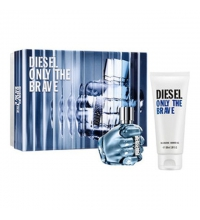 DIESEL ONLY THE BRAVE EDT 50 ML VP. + SHOWER GEL 100ML SET REGALO
